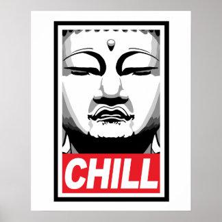 Buda desapasible póster