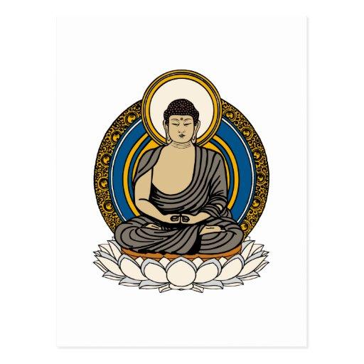 Buda Dhyana Mudra Postal