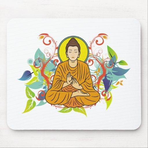 Buda dichoso mousepads