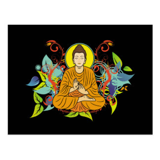 Buda dichoso postales