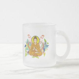 Buda dichoso taza de café