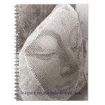Buda durmiente libreta espiral