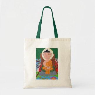 Buda embroma el bolso de Kraft Bolsas De Mano