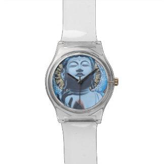Buda en azul relojes