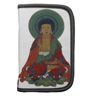 Buda en el regalo colorido de las hojas de Lotus Planificadores