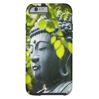 Buda en jardín del templo de Senso-ji Funda De iPhone 6 Tough