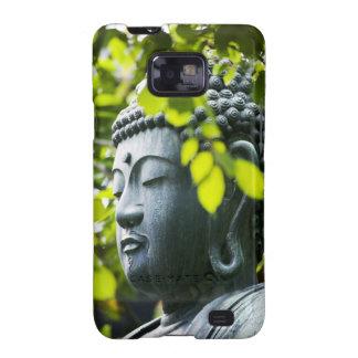 Buda en jardín del templo de Senso-ji Galaxy S2 Funda