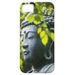 Buda en jardín del templo de Senso-ji Funda Para iPhone 5 Barely There