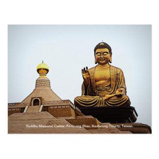 Buda en l ligero fotografía postales