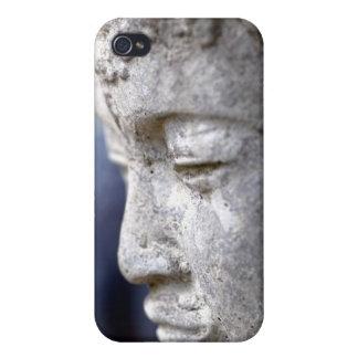 Buda en perfil iPhone 4/4S carcasa