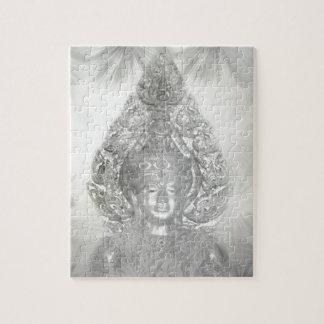 Buda en plata puzzle