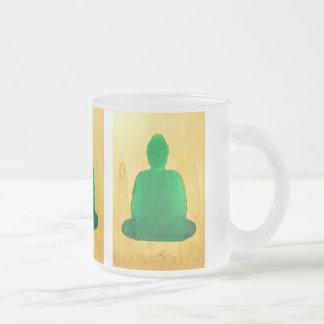 Buda en taza helada oro