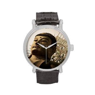 Buda enorme relojes de mano