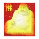 Buda envolvió la lona lona estirada galerias