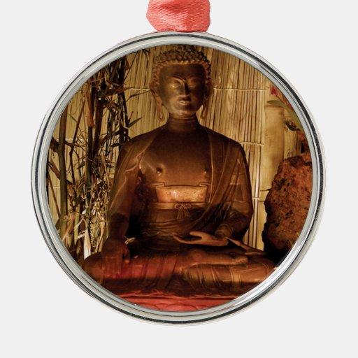 BUDA: Estatua de cobre Adorno De Reyes