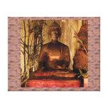 BUDA: Estatua de cobre Impresión De Lienzo