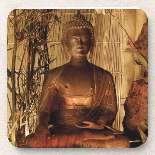 BUDA: Estatua de cobre Posavaso