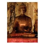 BUDA: Estatua de cobre Postal