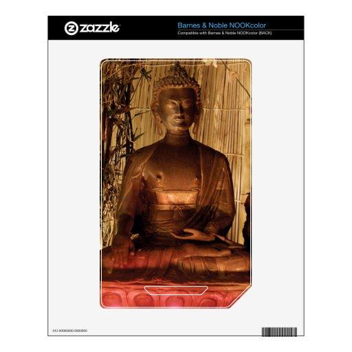 BUDA: Estatua de cobre Skin Para El NOOK Color