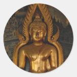 Buda Etiqueta Redonda