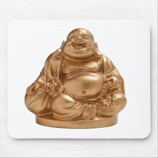 Buda feliz alfombrilla de ratones