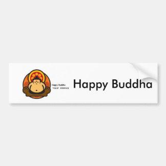 Buda feliz, Buda feliz Pegatina Para Auto
