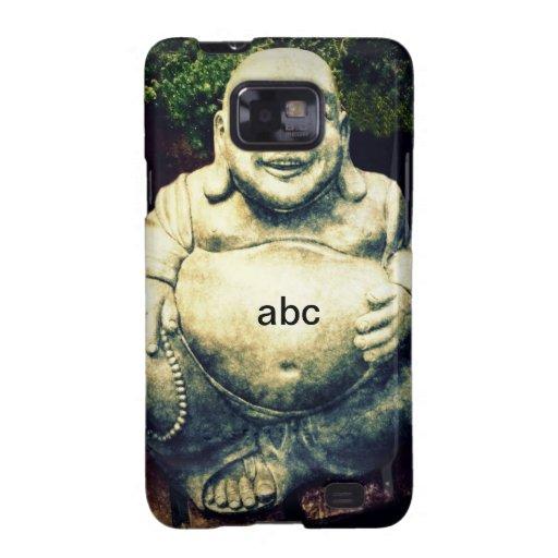 Buda feliz budista personalizado galaxy SII carcasa