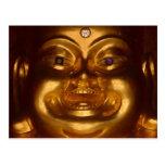 Buda feliz tarjetas postales