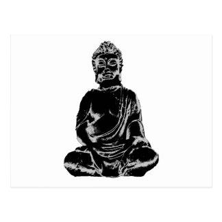 Buda figura tarjeta postal