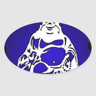 BUDA GIFTS CUSTOMIZABLE PRODUCTS OVAL STICKER