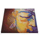Buda grande hace frente impresión en lona estirada