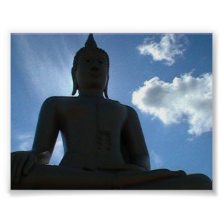 Buda grande, Tailandia Poster
