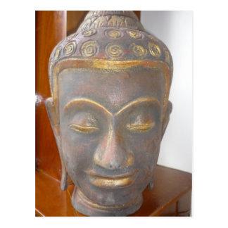Buda hace frente tarjeta postal