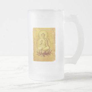 Buda hindú tazas de café
