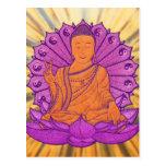 Buda iluminó postales