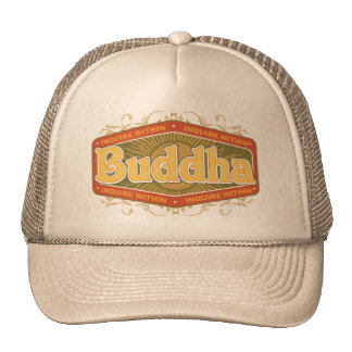 Buda investiga dentro gorras de camionero