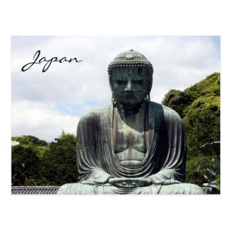 Buda Japón Tarjeta Postal