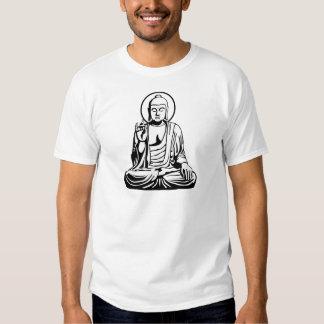 Buda joven No.1 (blanco negro) Polera