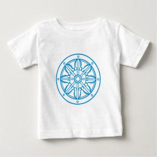 Buda Karma rueda de ley Wheel of Justice Playera De Bebé