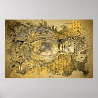 Buda las verdades nobles póster