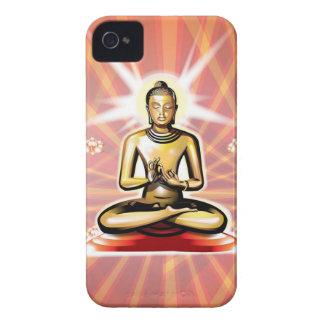 Buda Meditates caso del iPhone 4 Case-Mate iPhone 4 Fundas