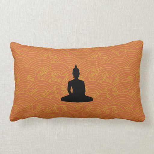 Buda Meditating Almohadas