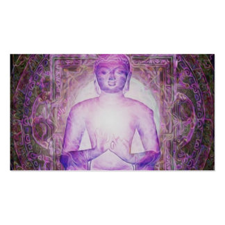 Buda Meditating feliz Tarjetas De Visita