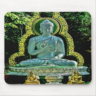 Buda Meditating Mousepad