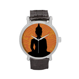 Buda Meditating Relojes De Pulsera