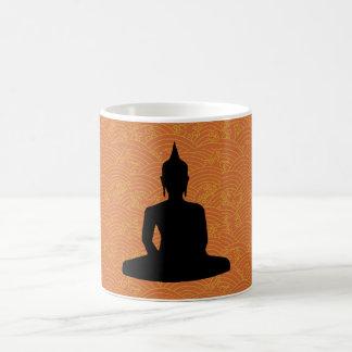 Buda Meditating Taza