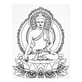 Buda Membrete A Diseño