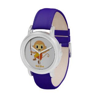 Buda Monkey™ Relojes De Pulsera