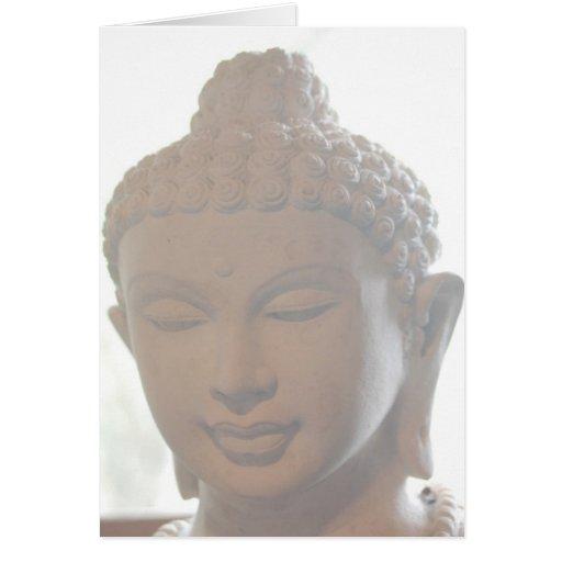 Buda Notecard principal Felicitaciones