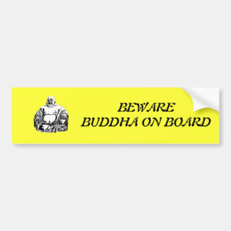 Buda Pegatina Para Auto